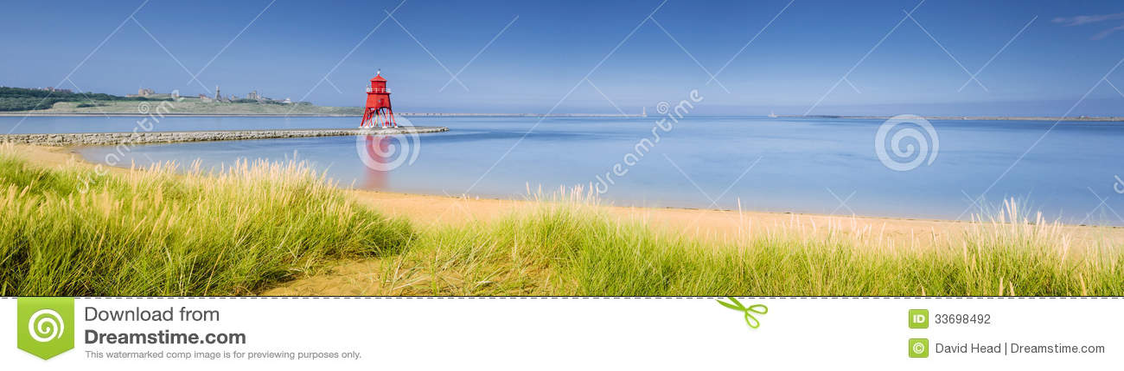 Le sud protège le panorama de plage
