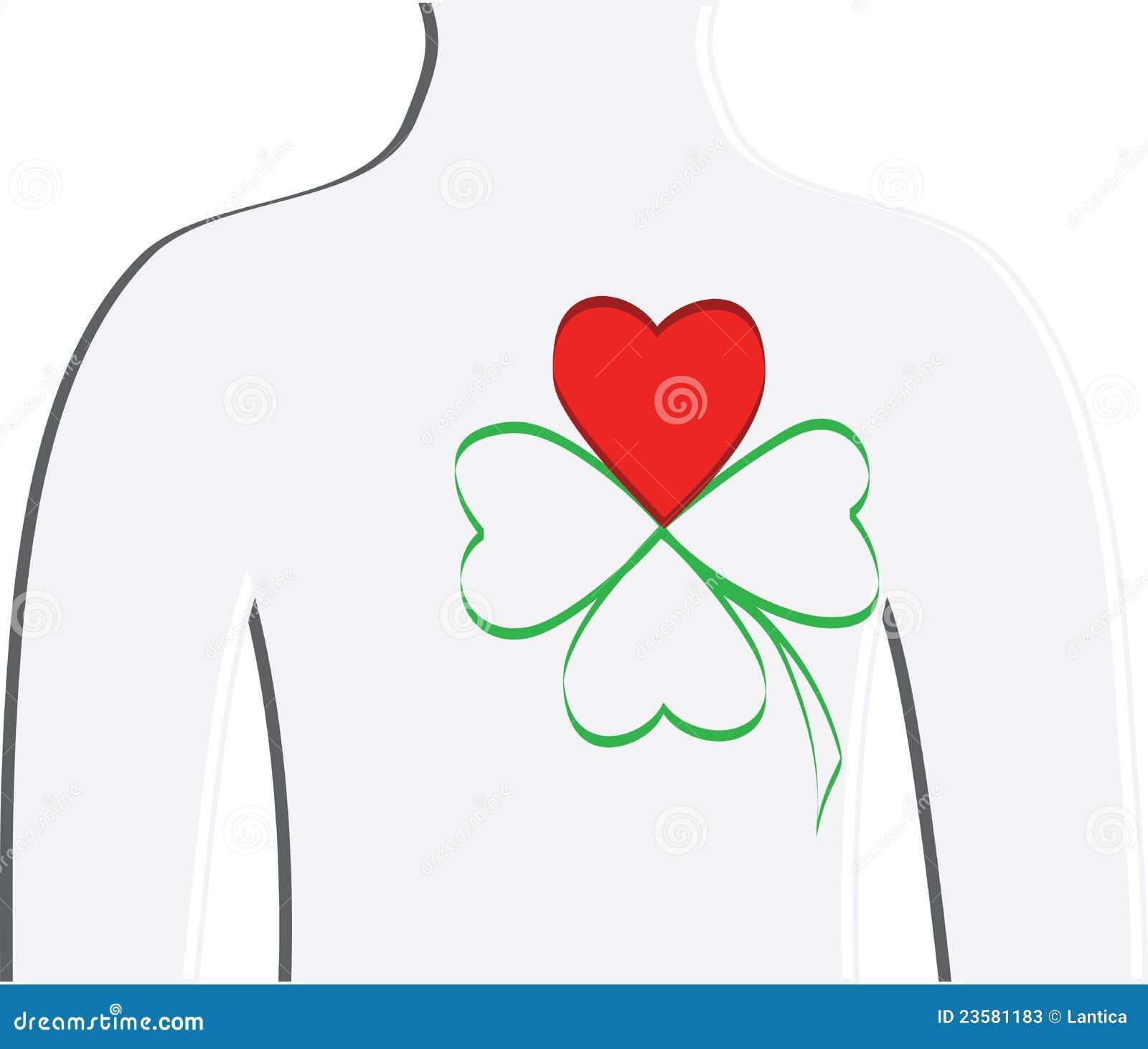 le symbole de l 39 amour pour l 39 irlande photos stock image 23581183. Black Bedroom Furniture Sets. Home Design Ideas