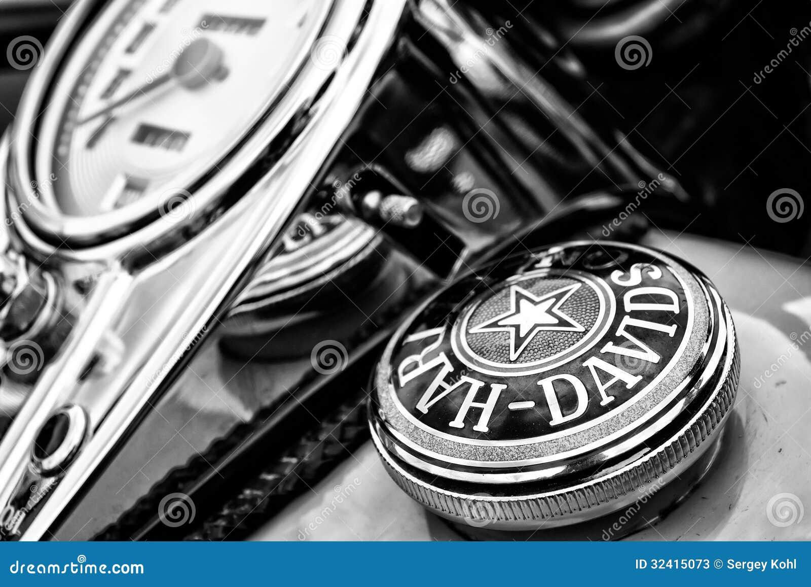 le tableau de bord et le r servoir de carburant couvrent la moto harley davidson photo stock. Black Bedroom Furniture Sets. Home Design Ideas
