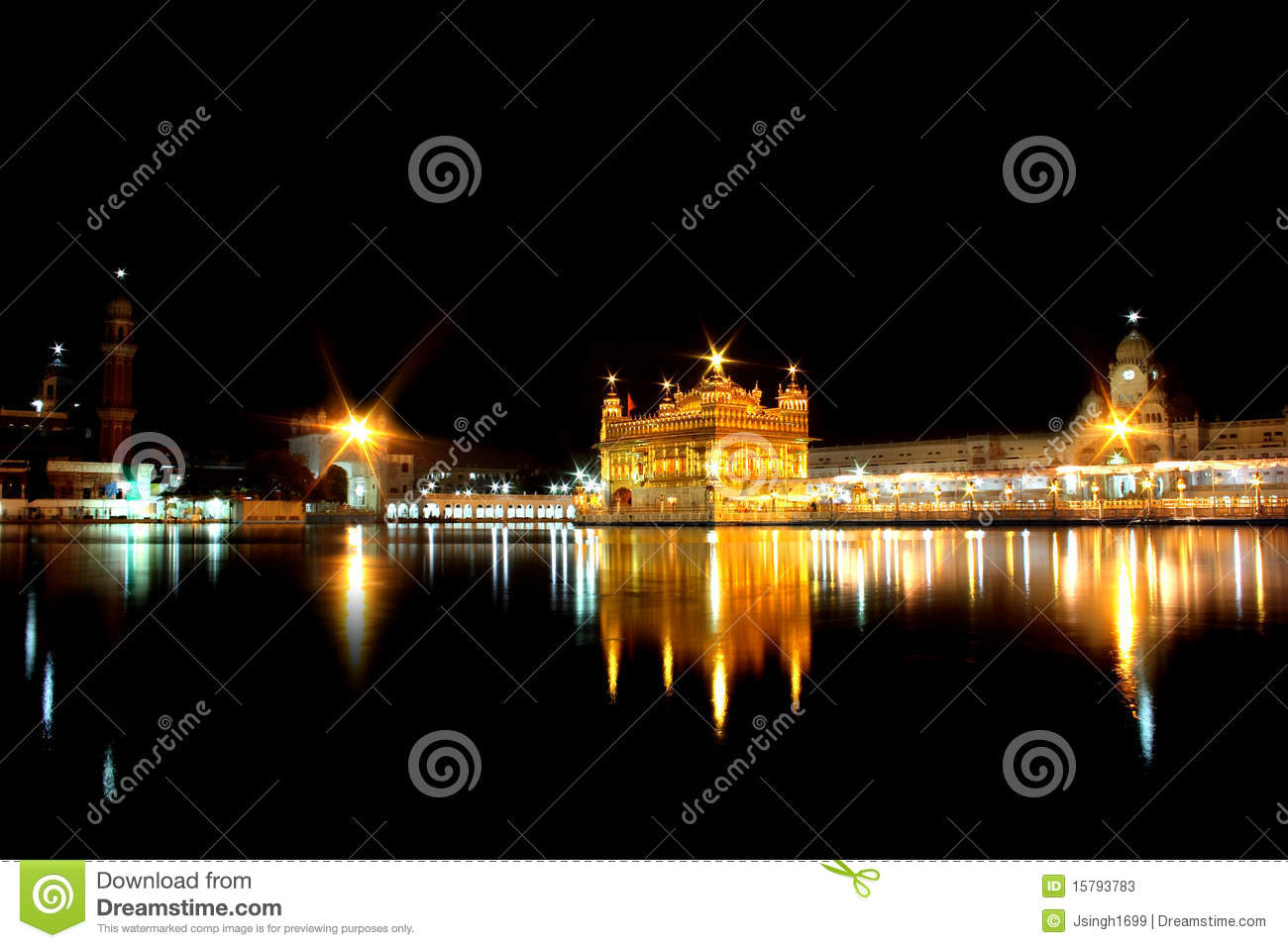Le temple d or, Amritsar, Pendjab, Inde