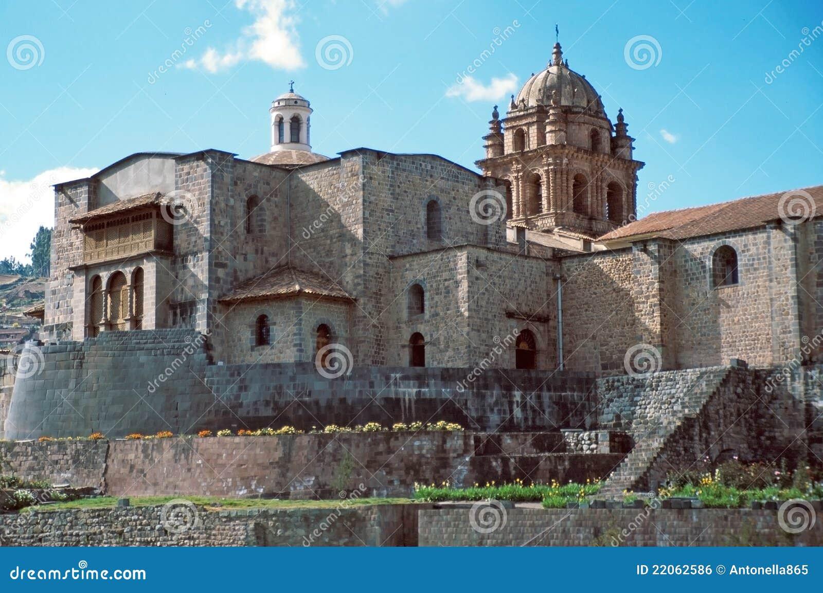 Le temple de Coricancha, Cuzco, Perù