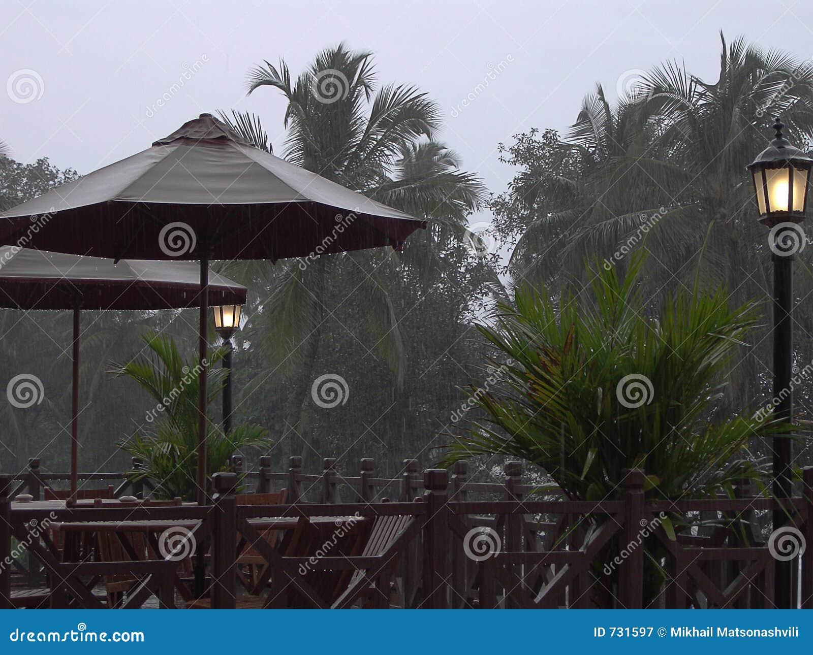 Le temps pluvieux