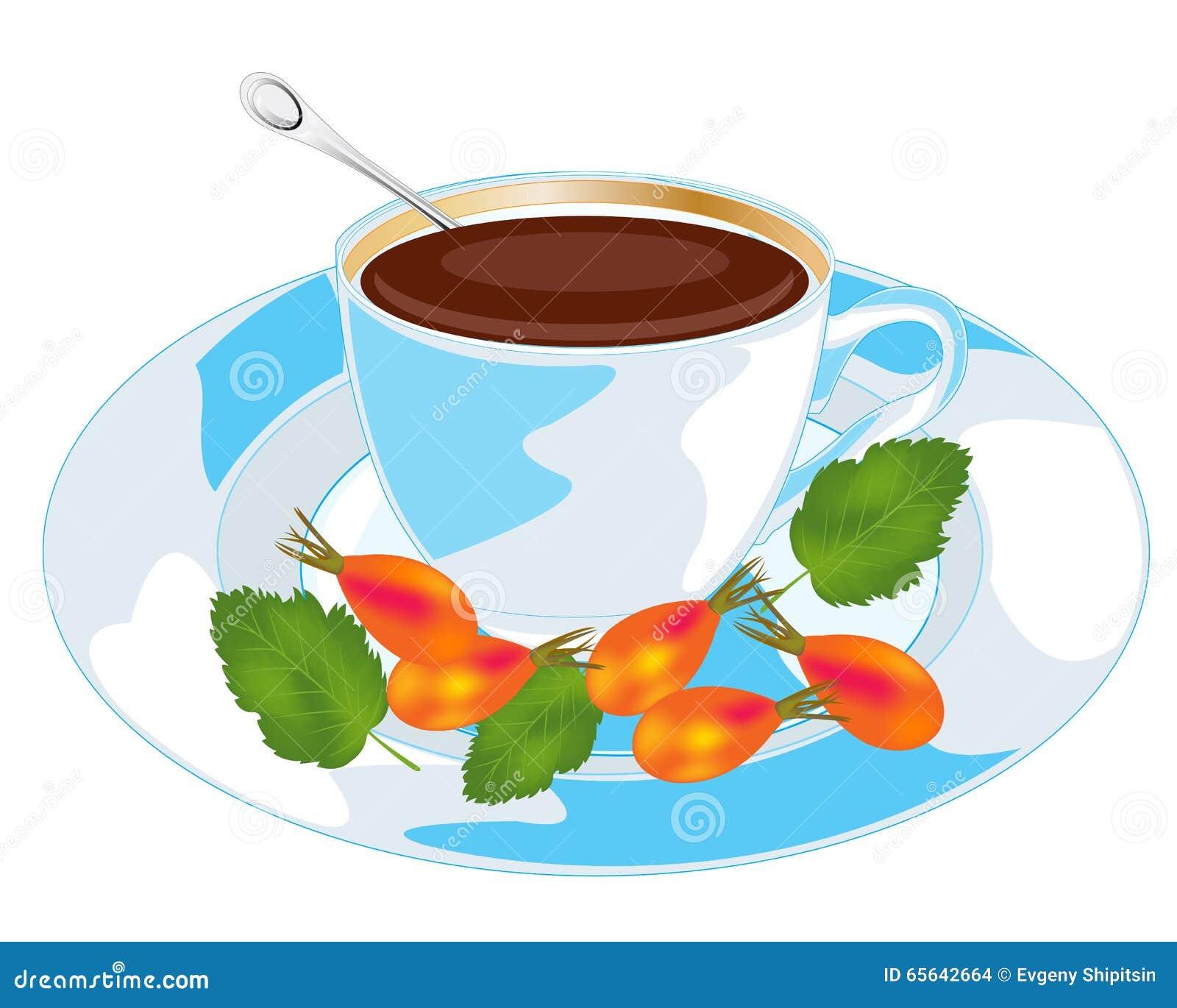 Le thé avec sauvage s est levé