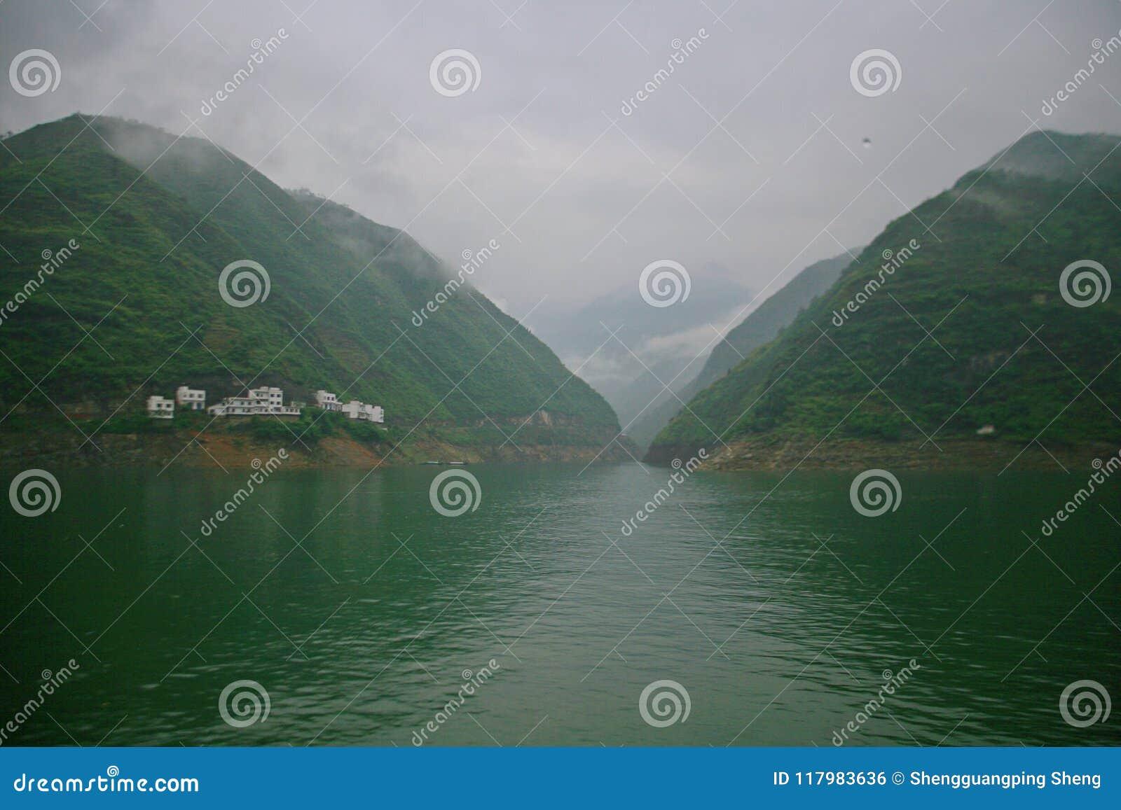 Le Three Gorges du fleuve Yangtze
