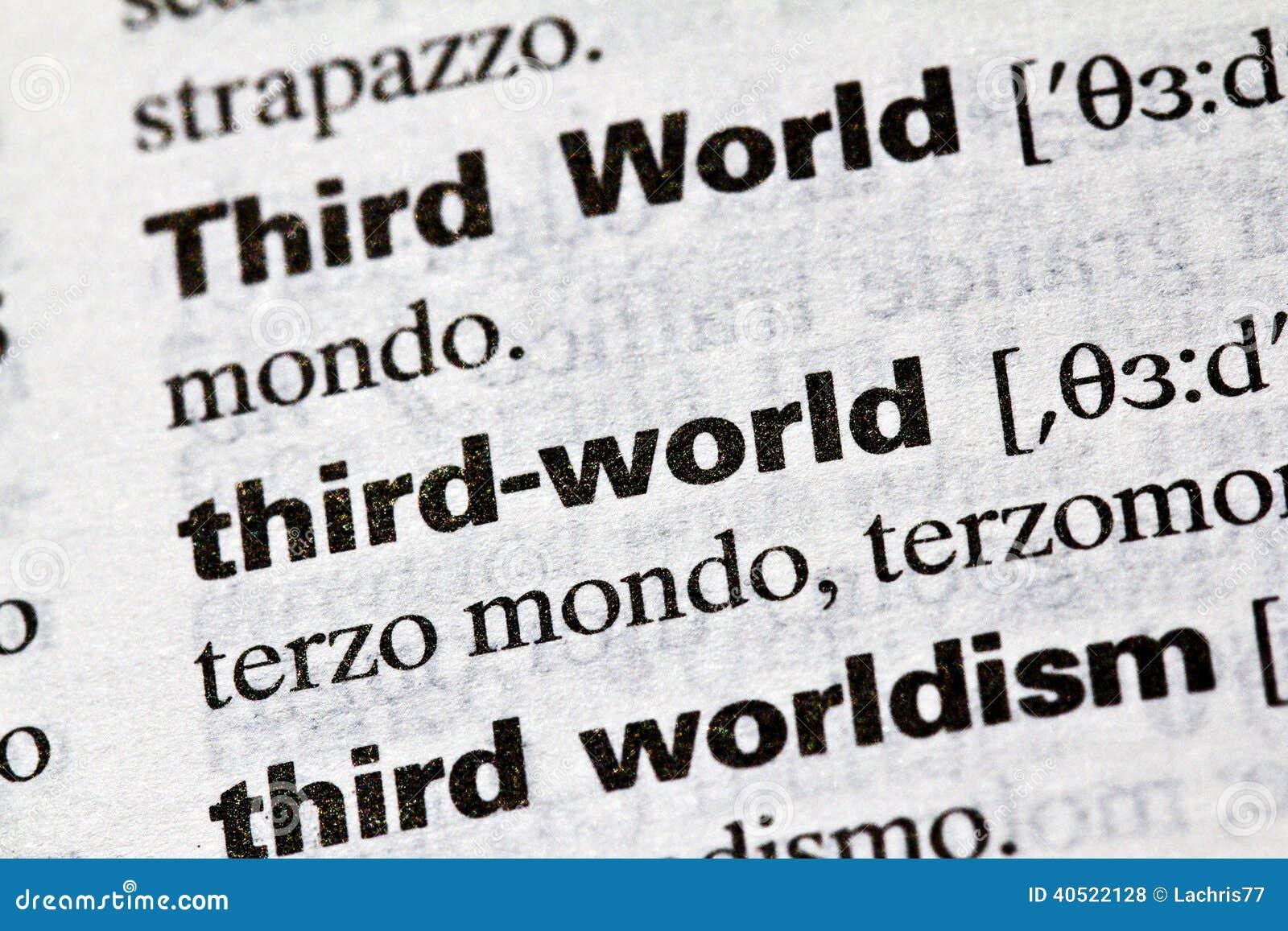 Le tiers monde