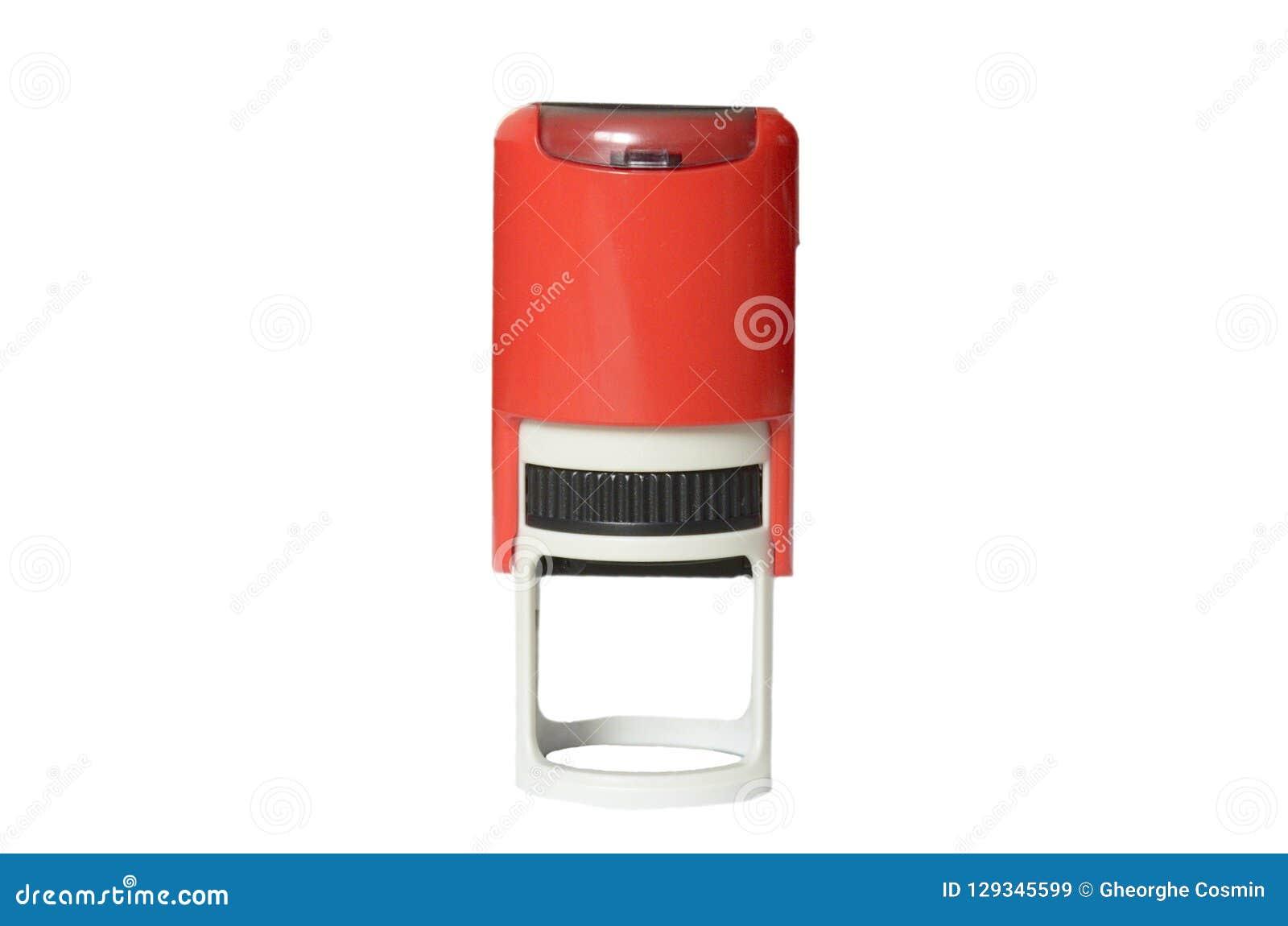 Le timbre rouge pour des entreprises