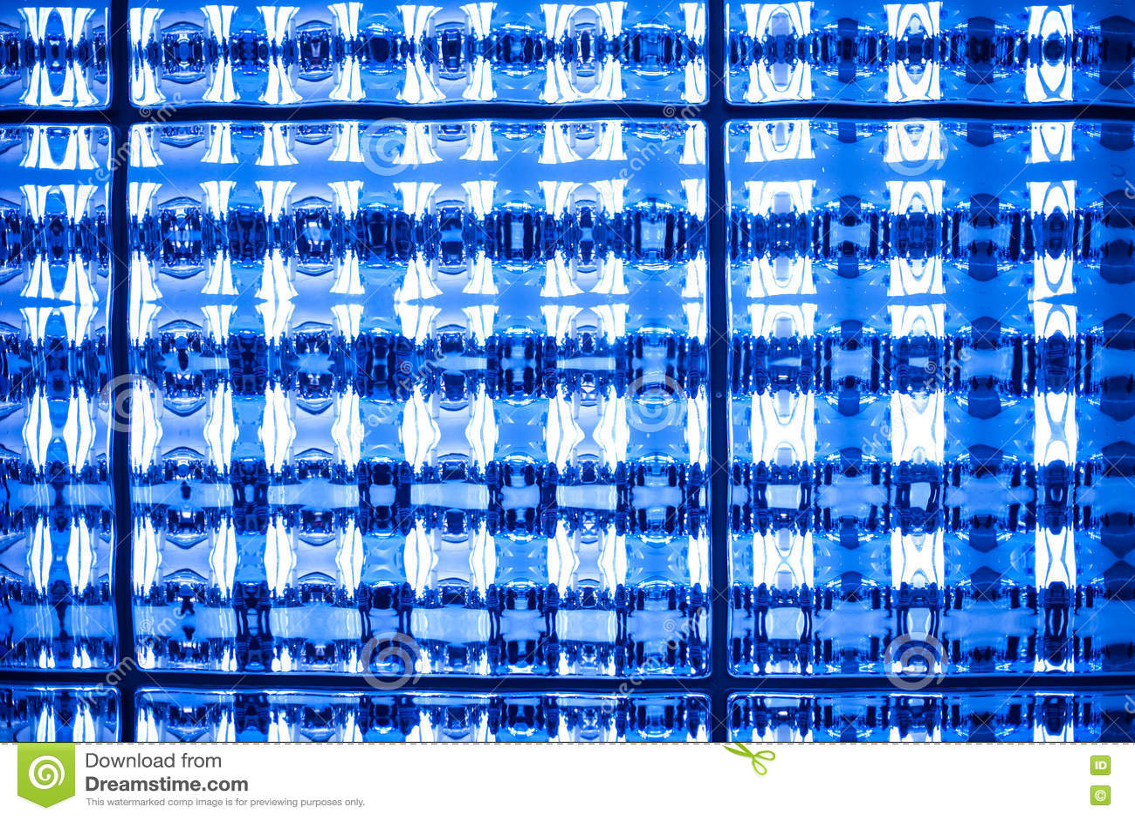 Le Ton Bleu Abstrait A Souillé Le Fond De Papier Peint De