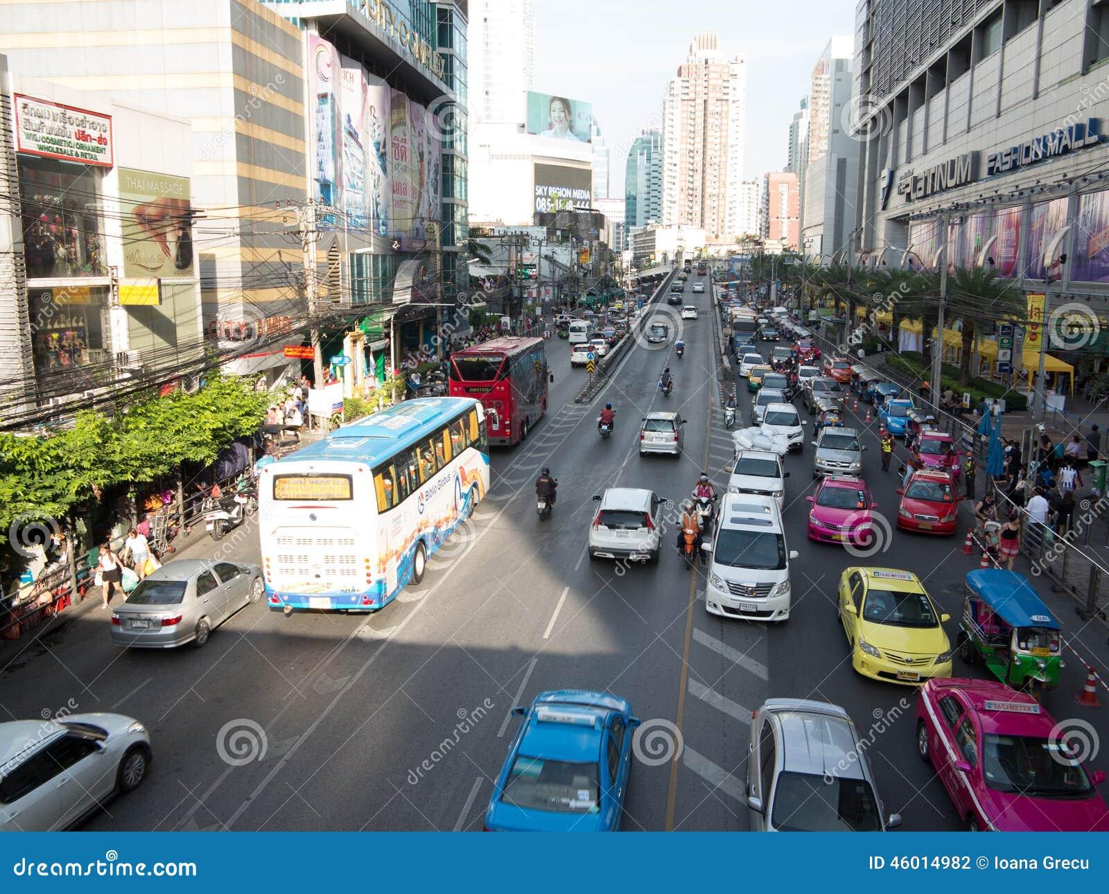 Le trafic de Bangkok