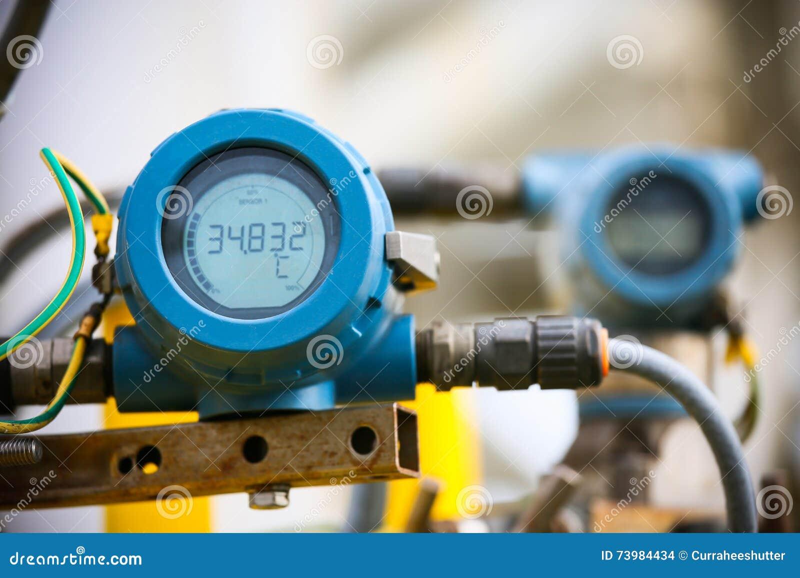 Le transmetteur de pression en pétrole et gaz traitent, envoient le signal à la pression de contrôleur et de lecture dans le syst