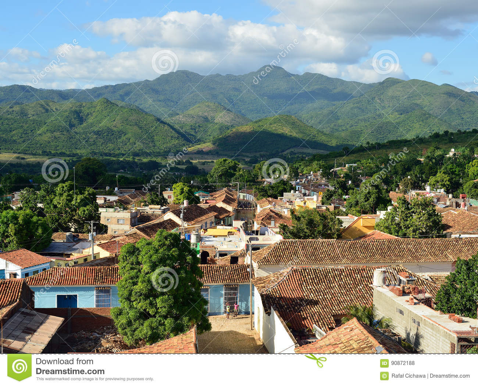 Le Trinidad au Cuba