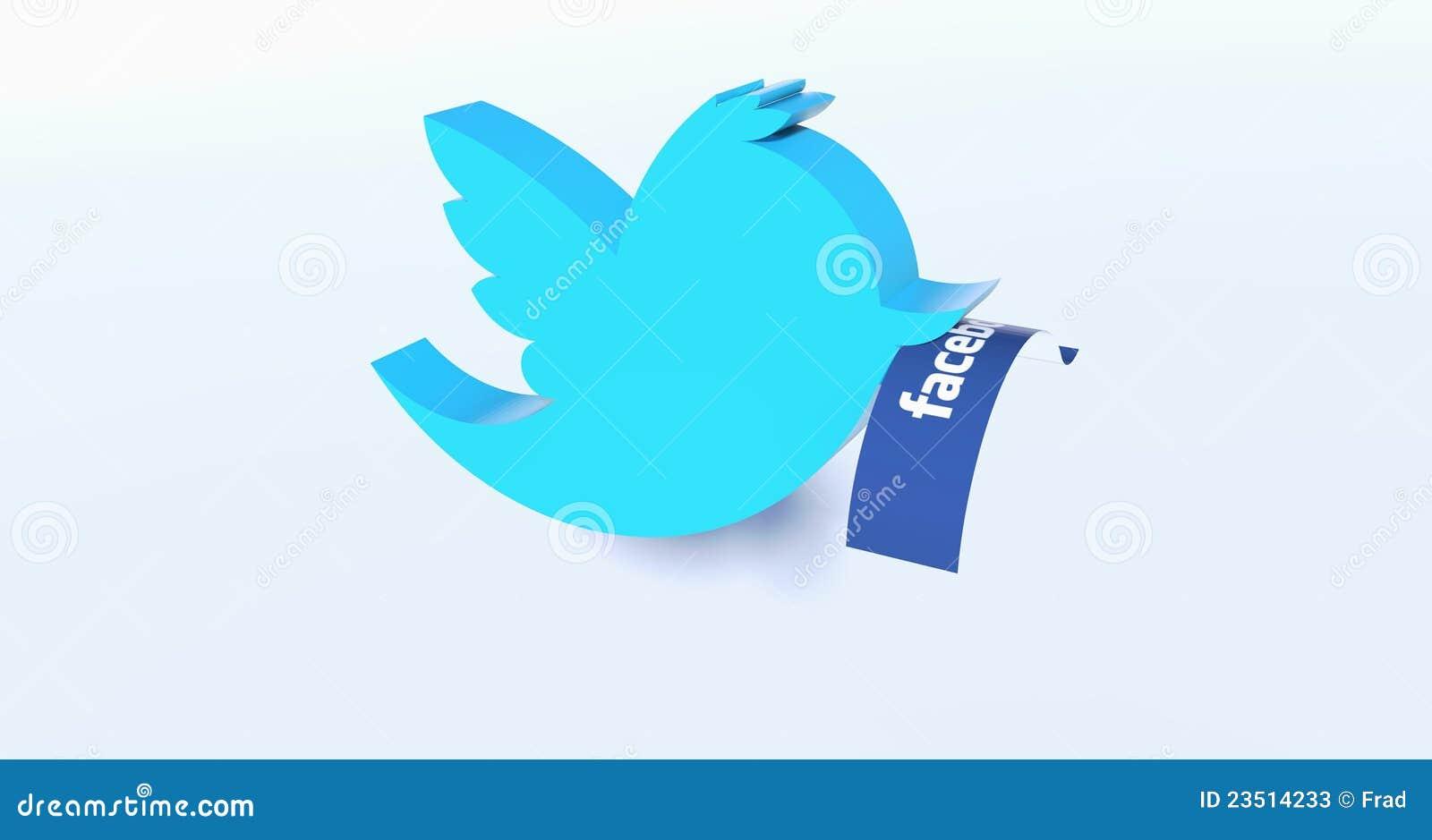 Le Twitter saisit Facebook