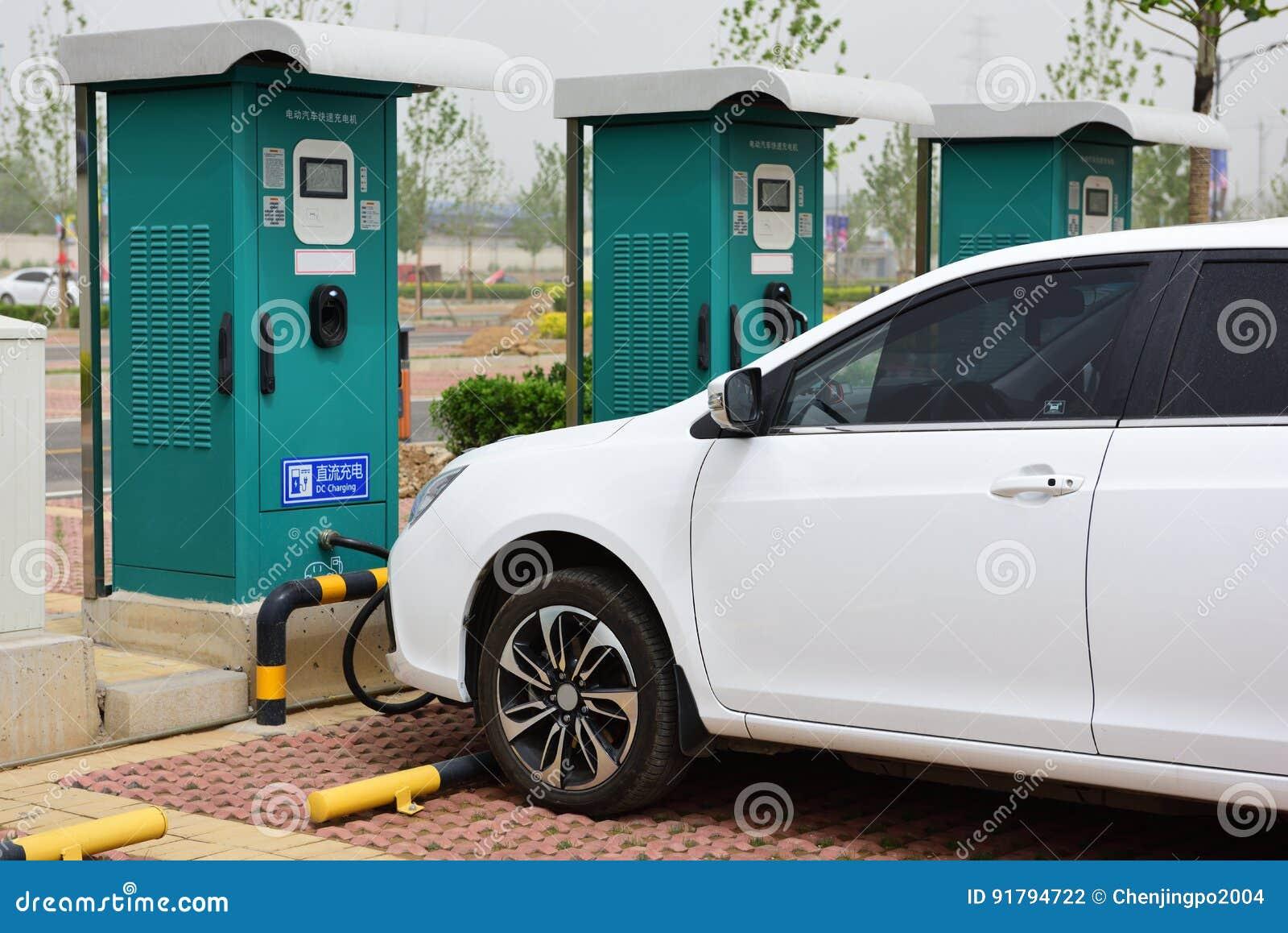 Le véhicule électrique de remplissage de lame