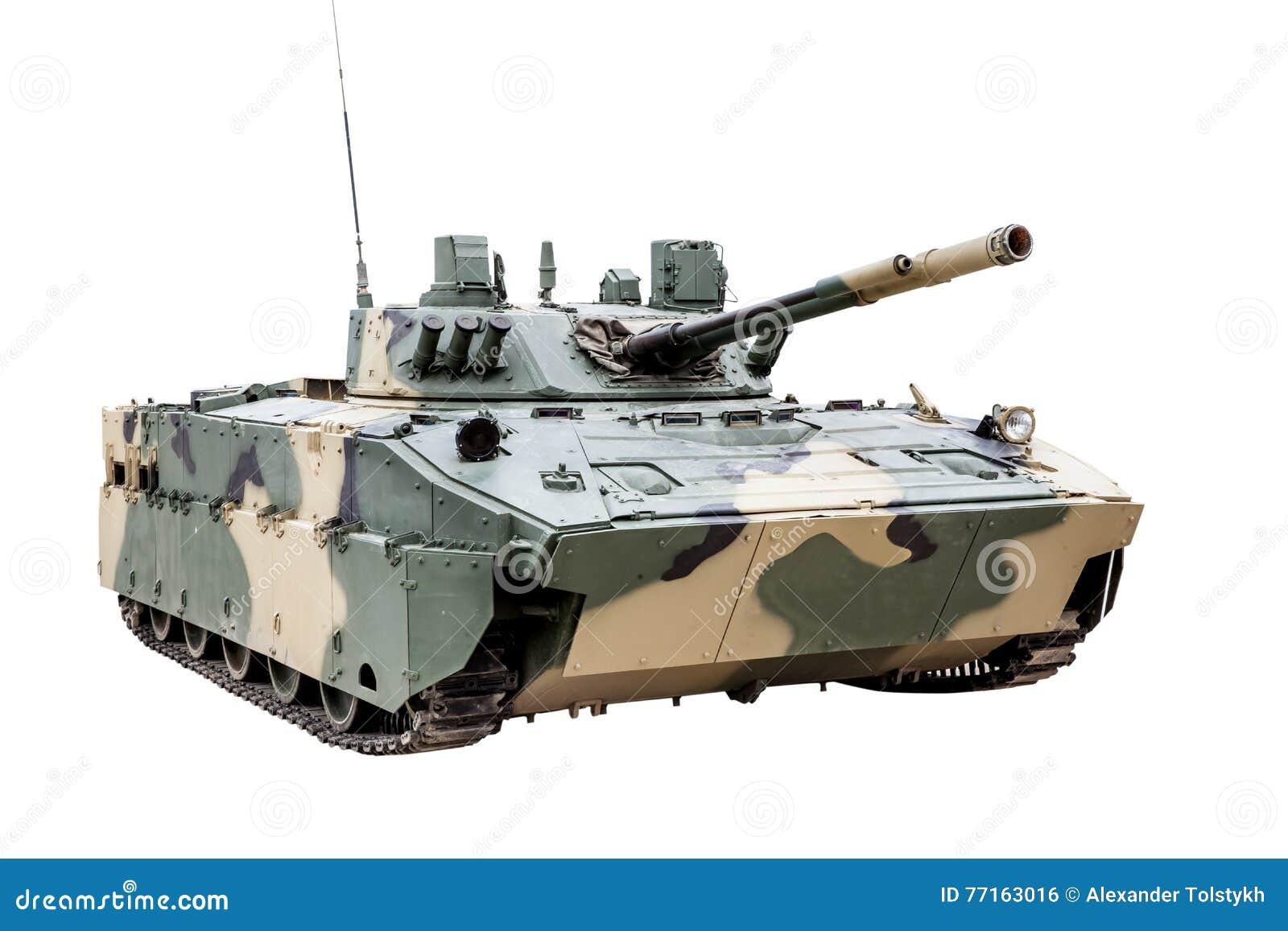 Le véhicule de combat BMD-4 de l aéroporté d isolement
