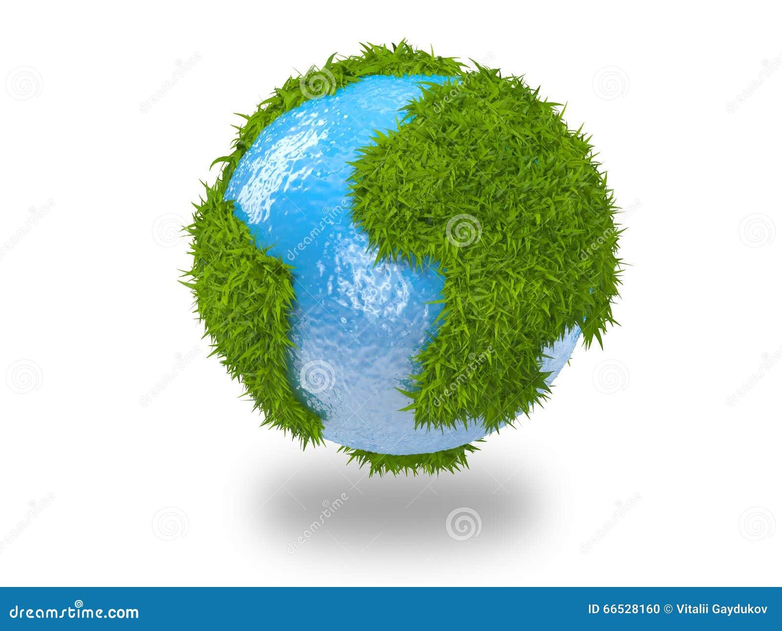 Le vecteur différent d illustration de globe visualise le monde