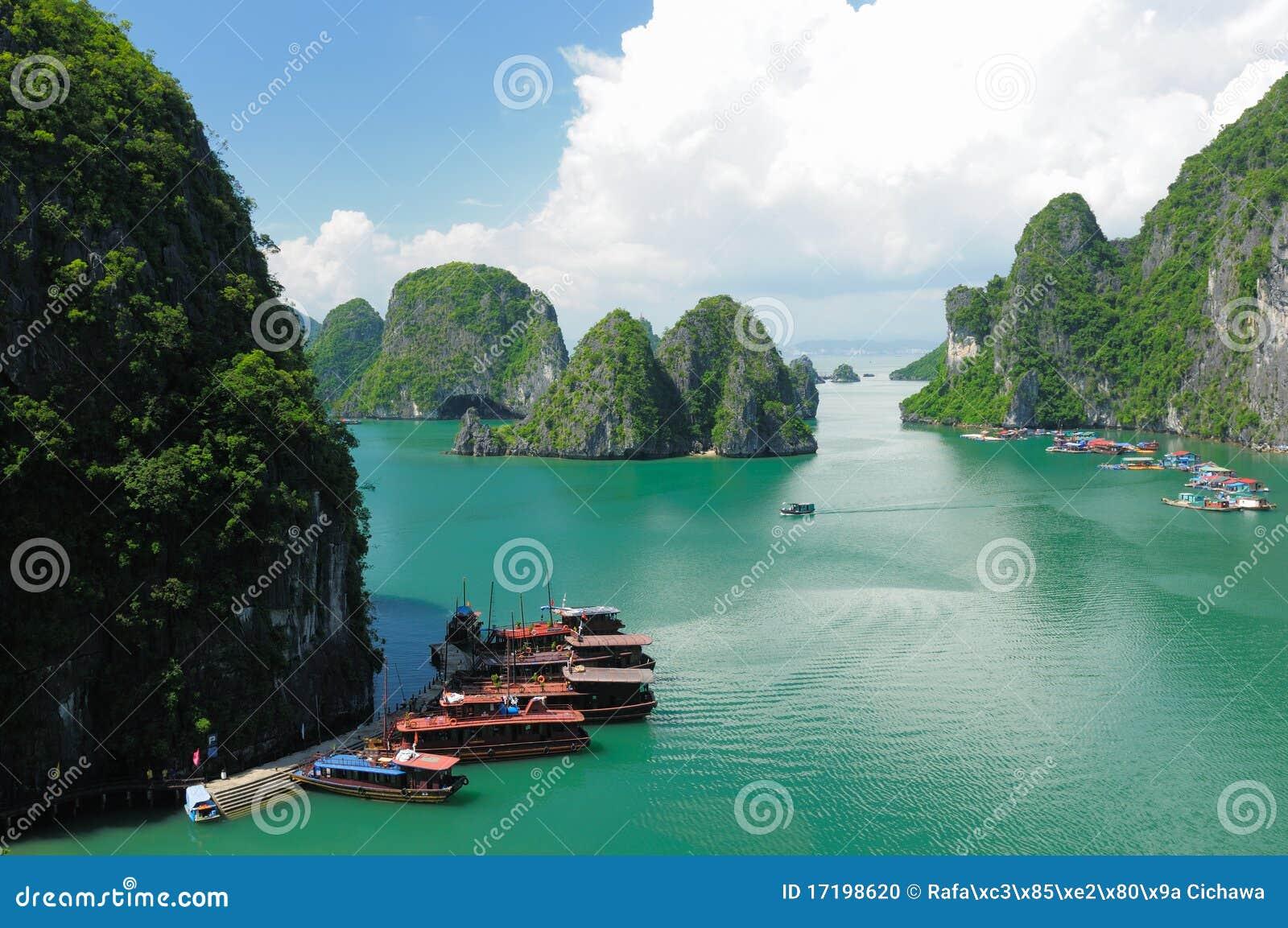 Le Vietnam - compartiment de Halong