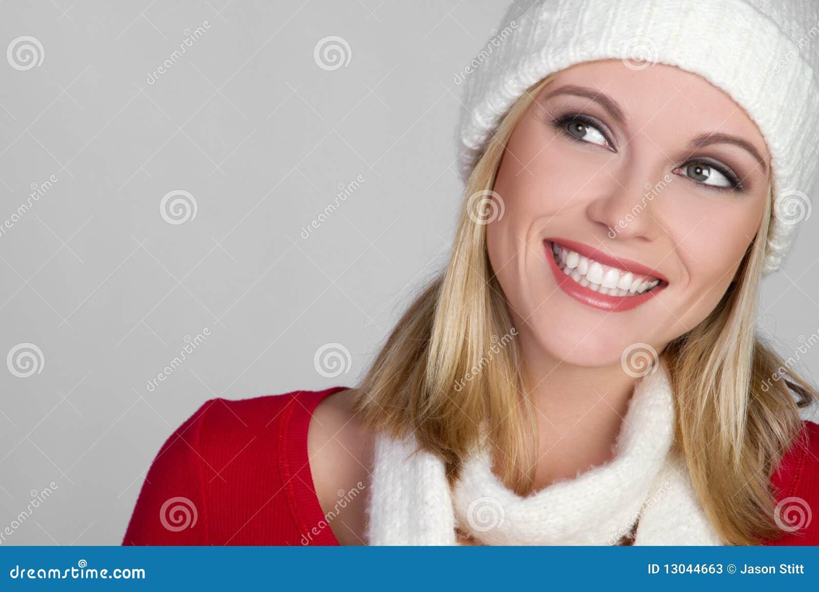 Le vinter för flicka