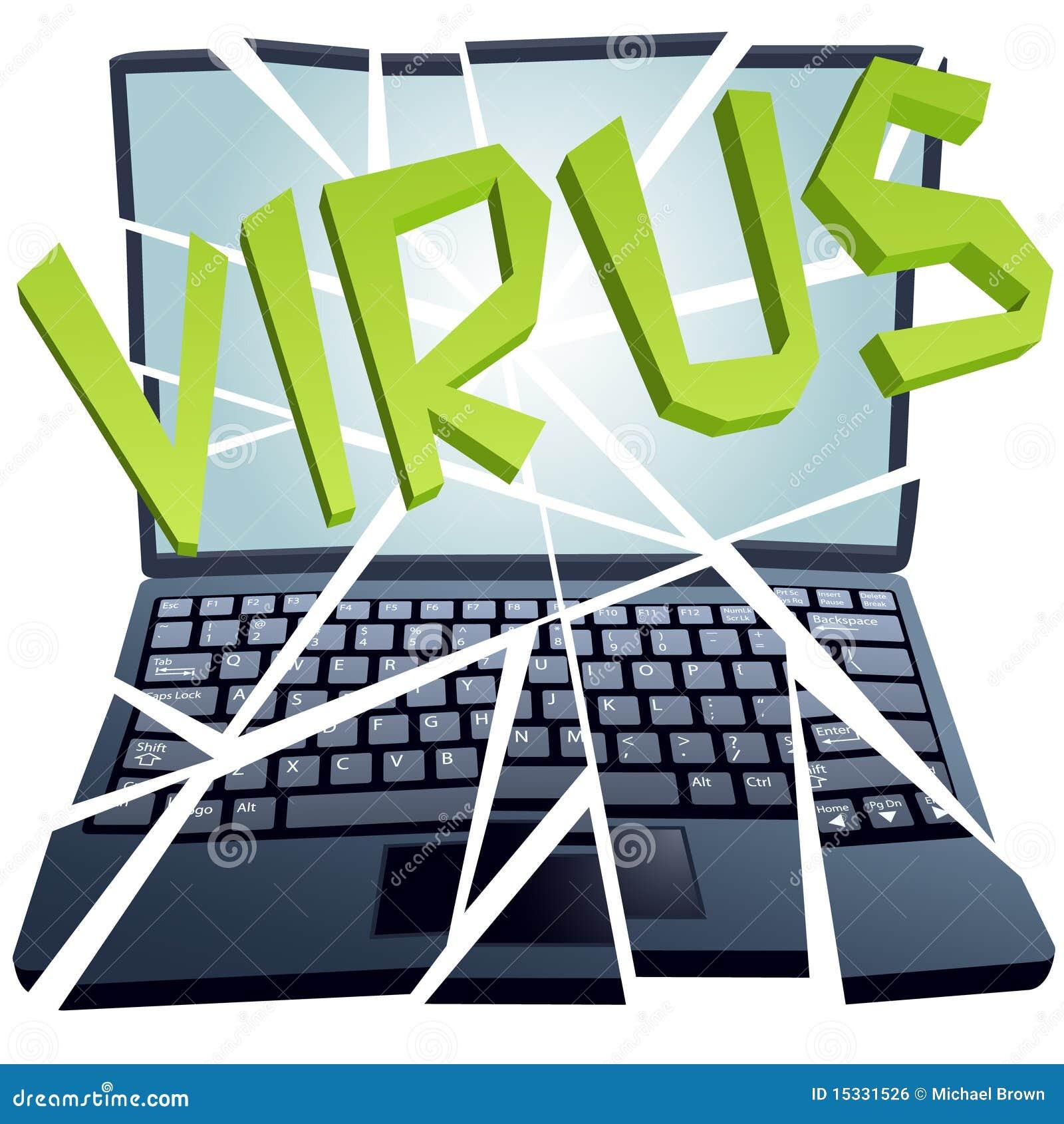 le virus d 39 ordinateur casse la garantie pour tomber en panne l 39 ordinateur portatif image libre. Black Bedroom Furniture Sets. Home Design Ideas