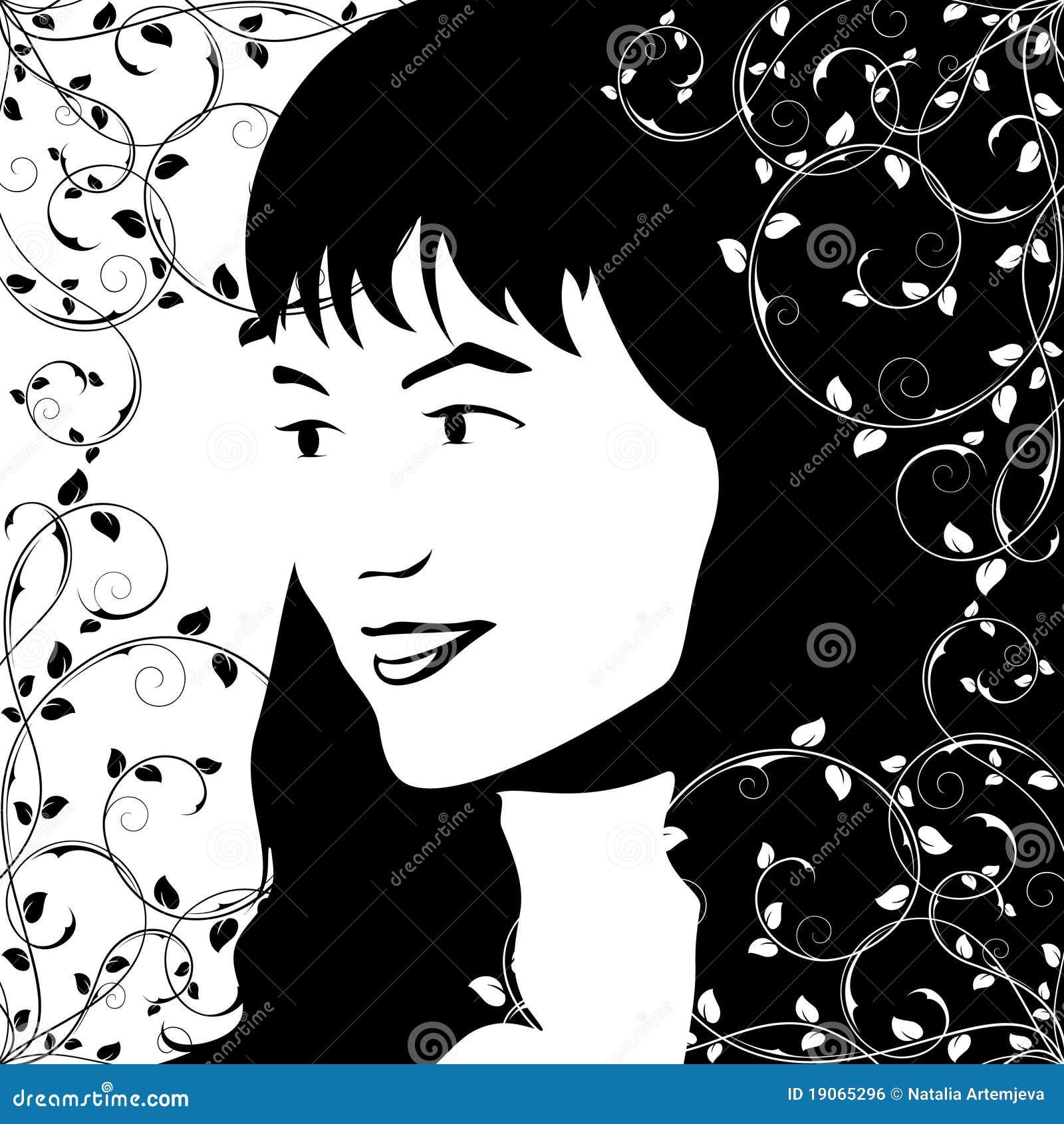Le visage de la fille