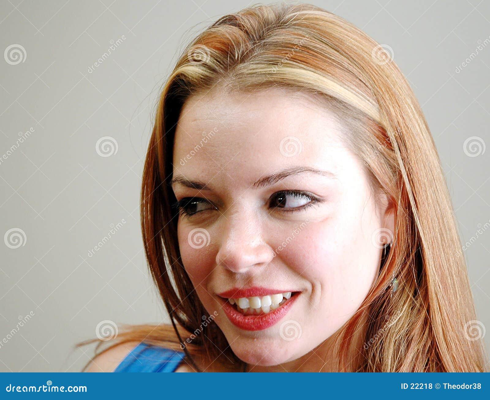 Le visage du femme