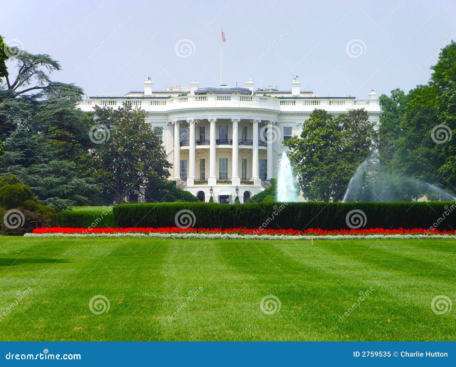 Le Washington DC de la Maison Blanche.