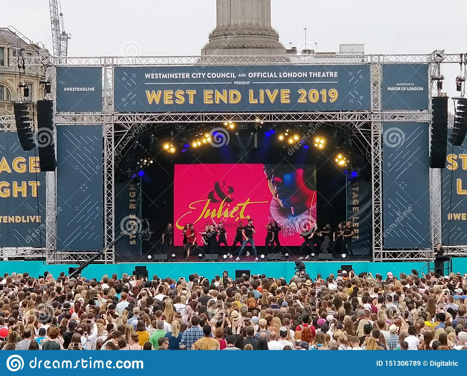 Le West End vivent Juliet 2019