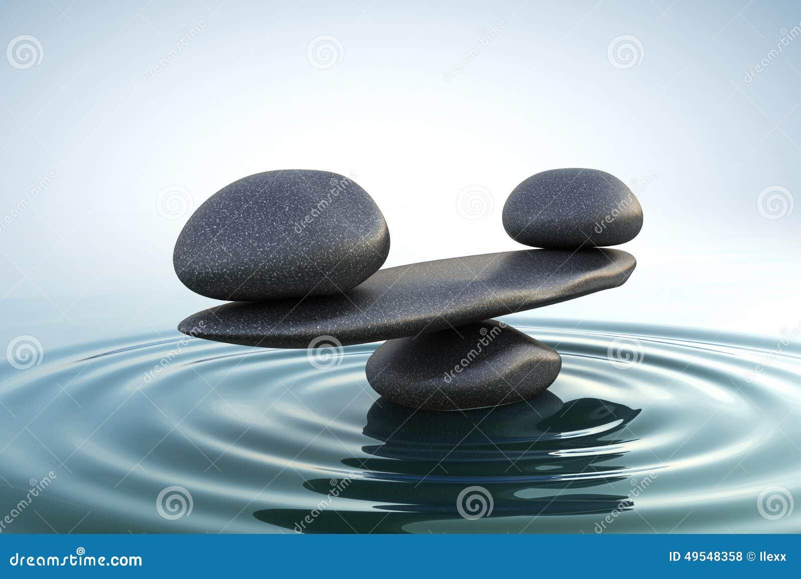 Le zen lapide l équilibre