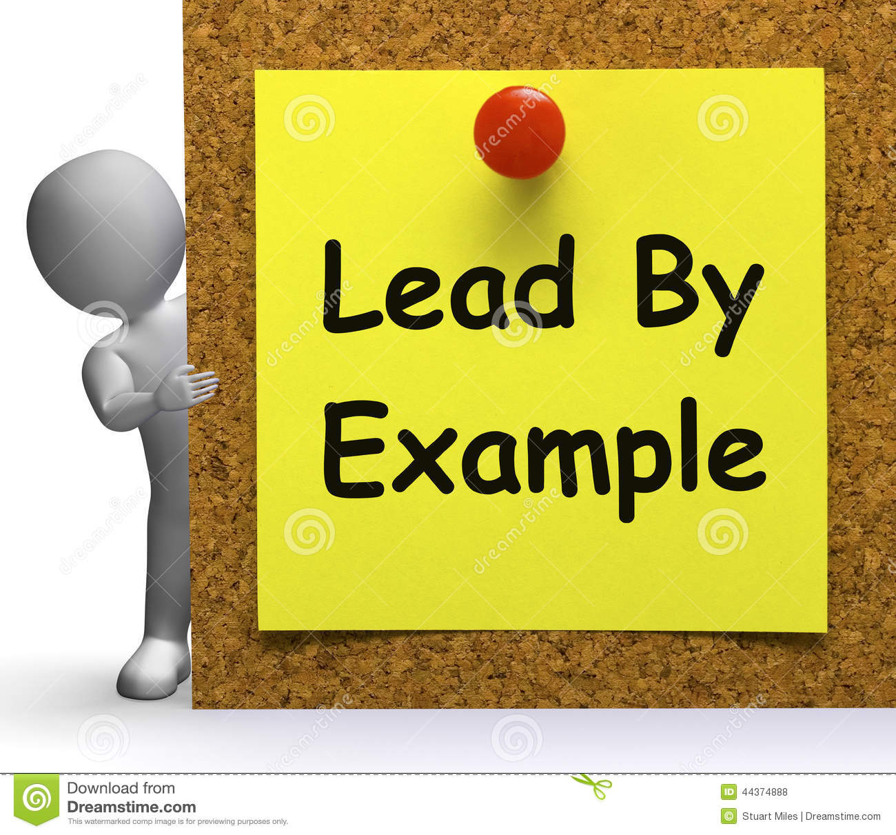 lead with example Leaders often hear that they must lead by example to get their employees on board with their company's goals four leaders share how they do just that.