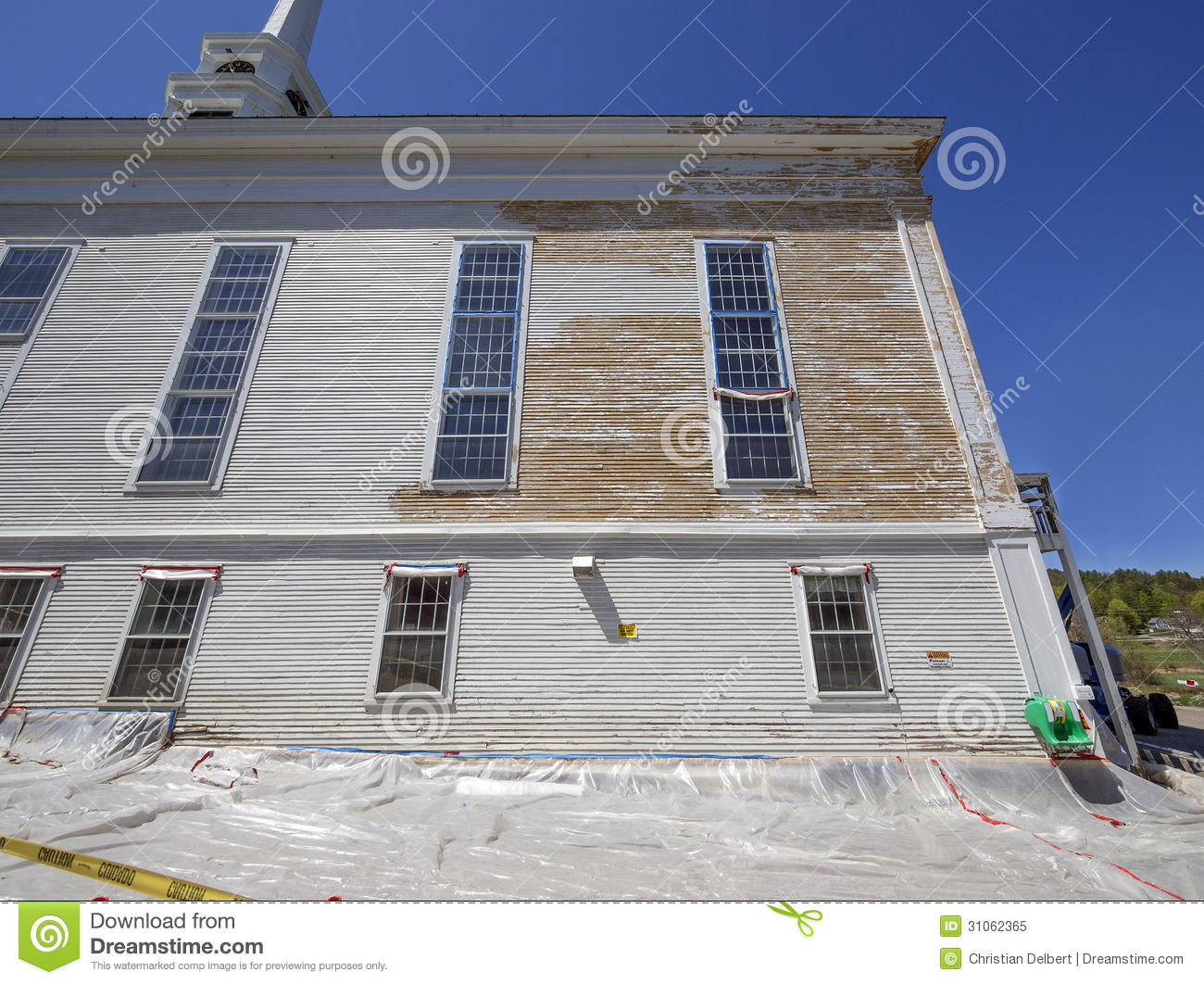 Lead Paint Removal Royalty Free Stock Photo Image 31062365