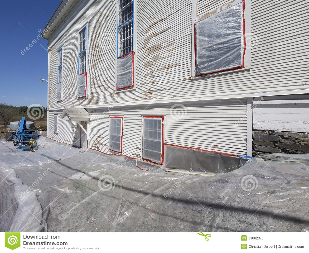Lead Paint Removal Stock Photo Image 31062370