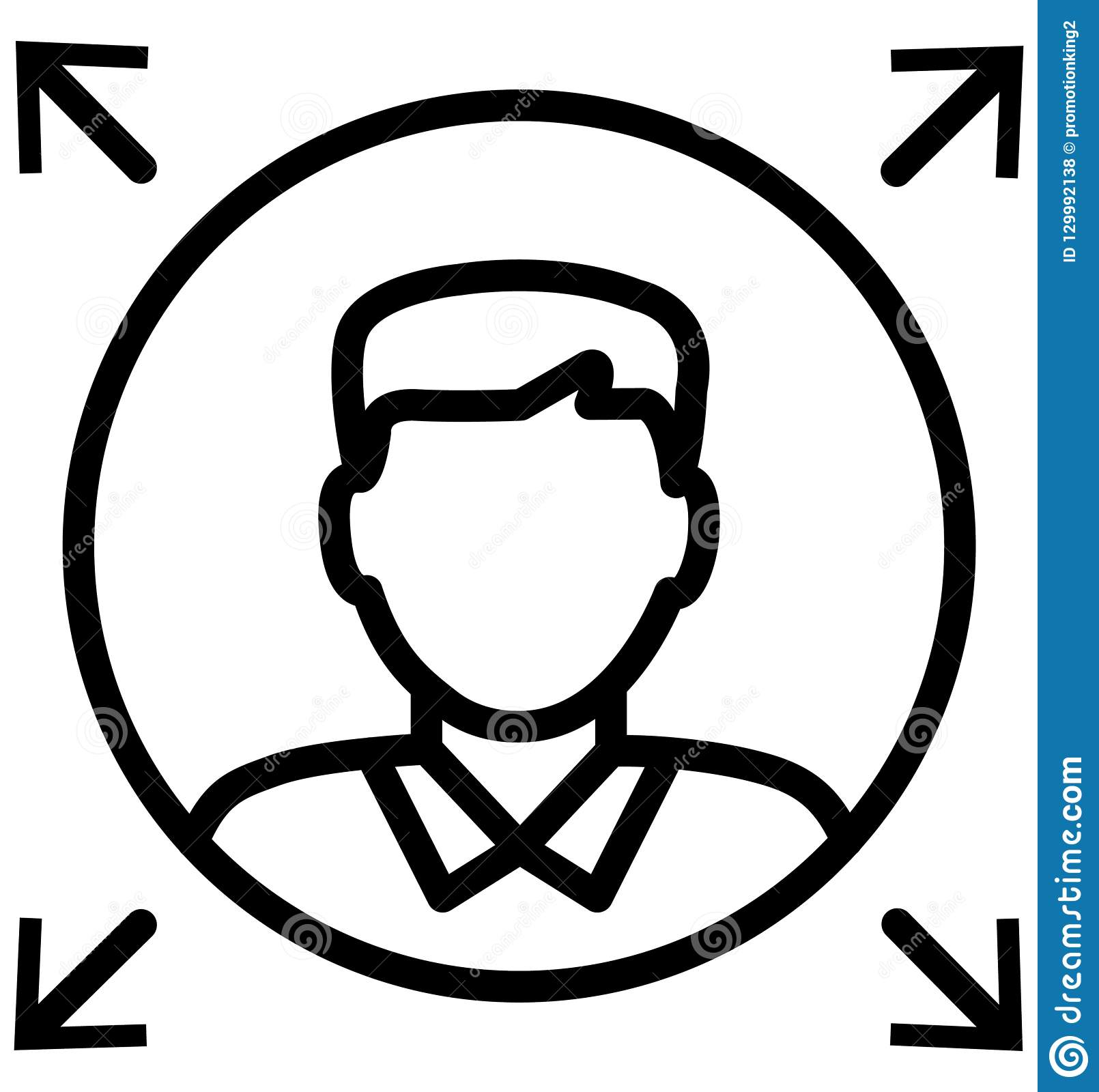 Leader Line Isolated Vector Icon That can be easily modified or edit