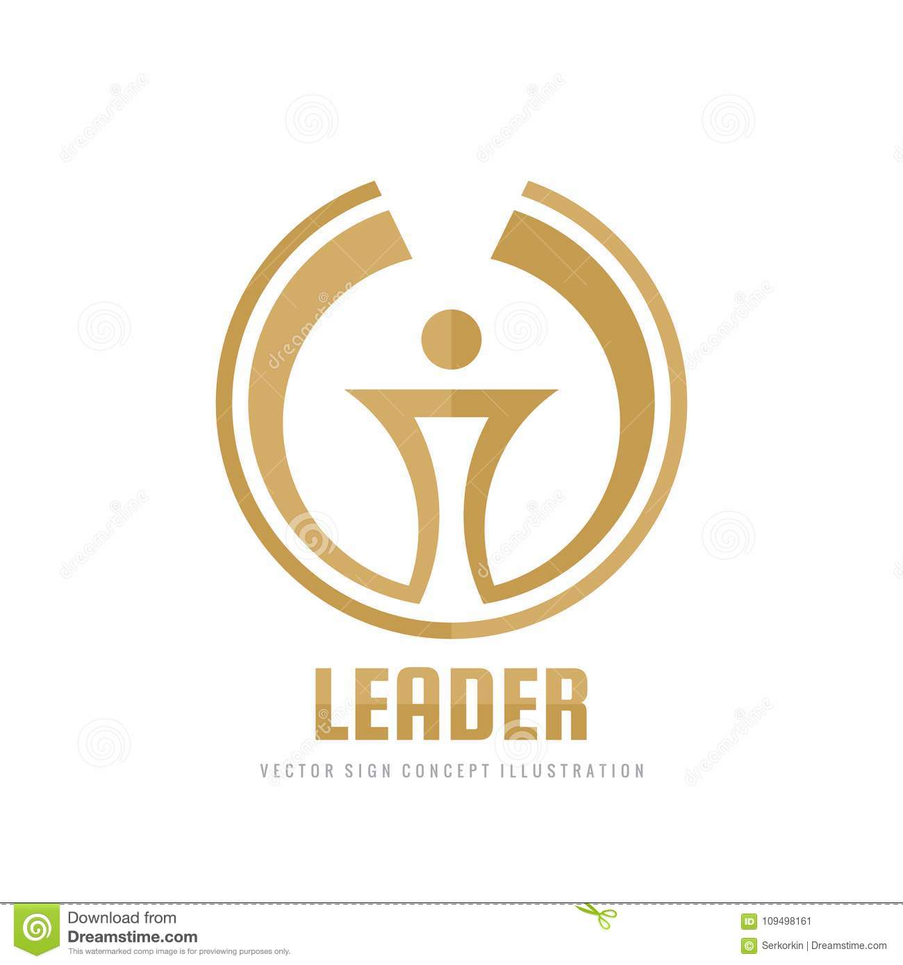 Leader - vector business logo template concept illustration. Abstract torch creative sign. Award winner cup symbol.