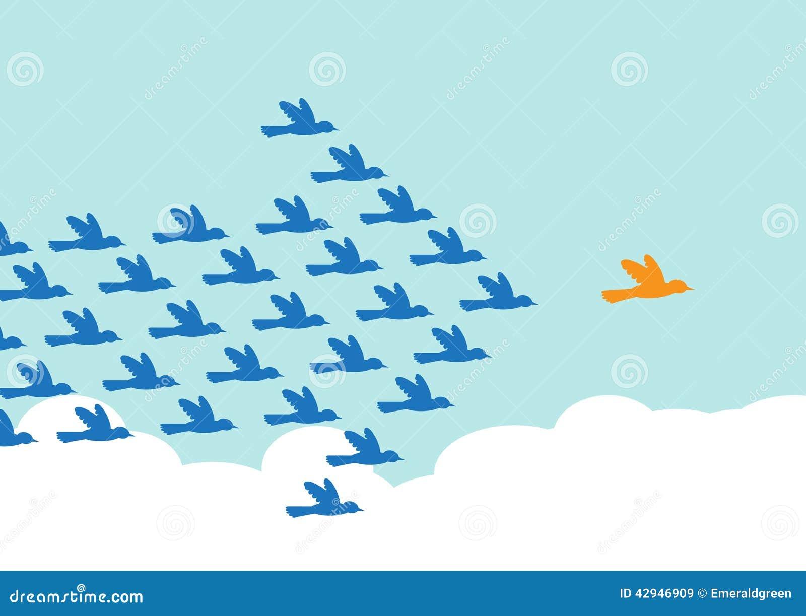 Leadership Stock Vector Image 42946909