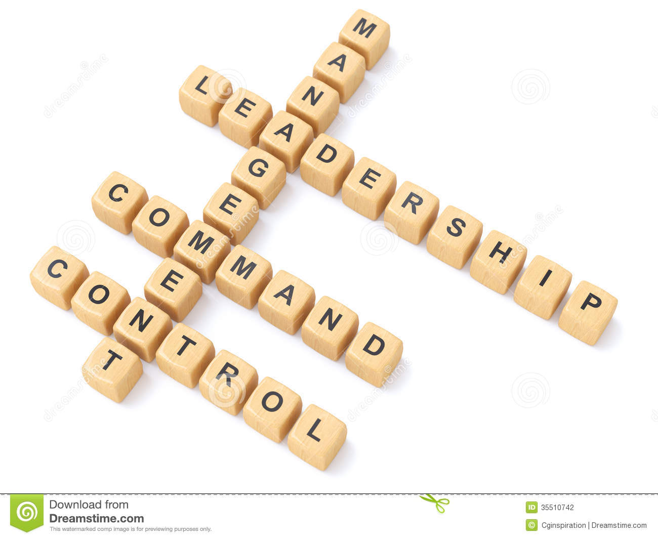 Leadership Crosswords Stock Photography - Image: 35510742