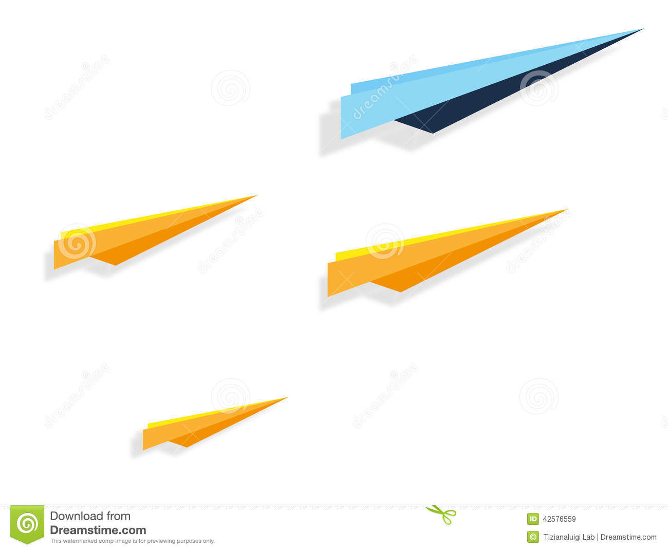 how to create a paper airplane that turns