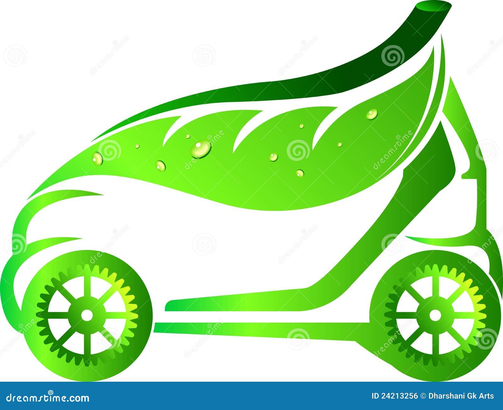 Leaf Car Stock Vector Illustration Of Electric Element
