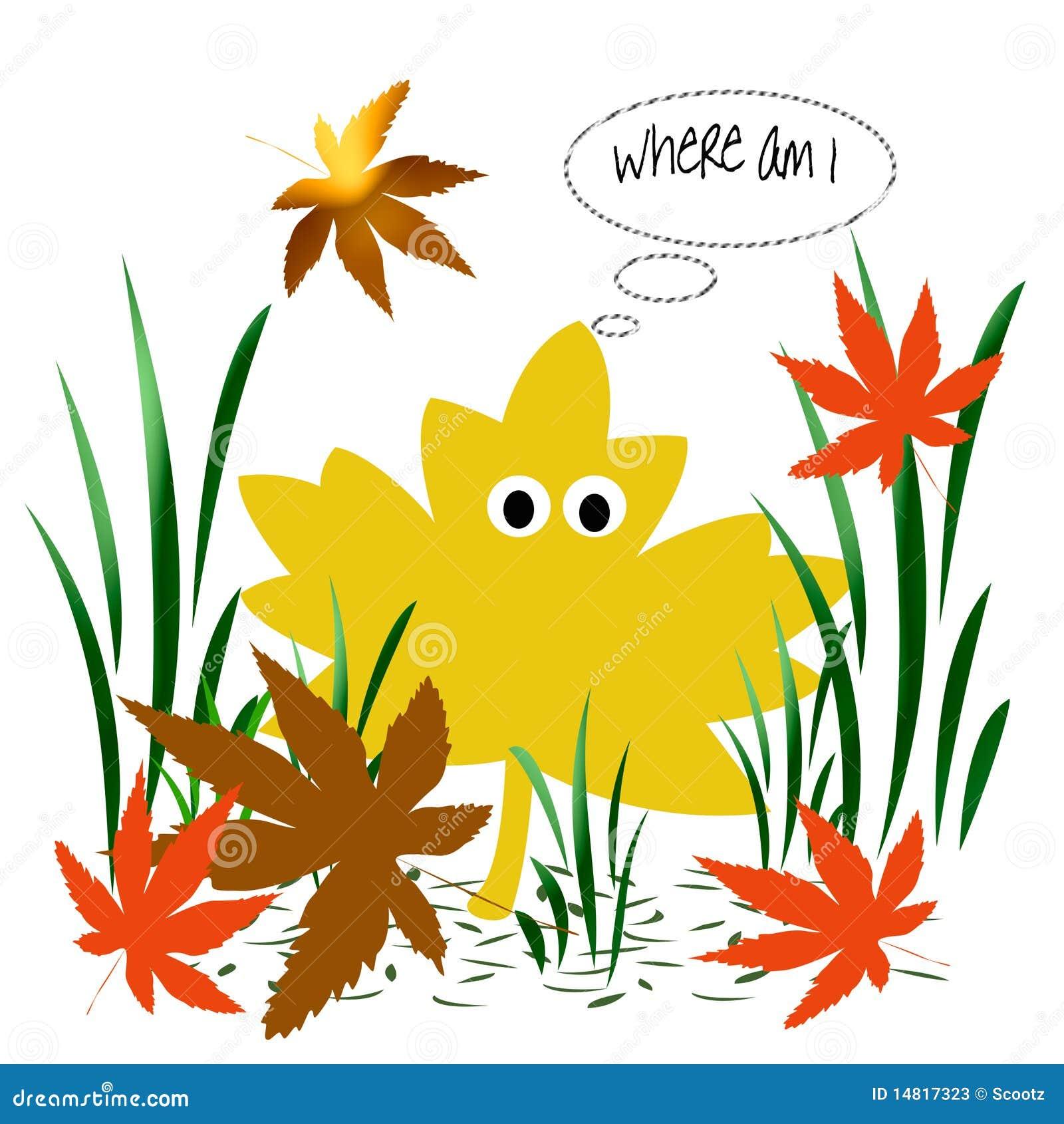 Leaf confusion