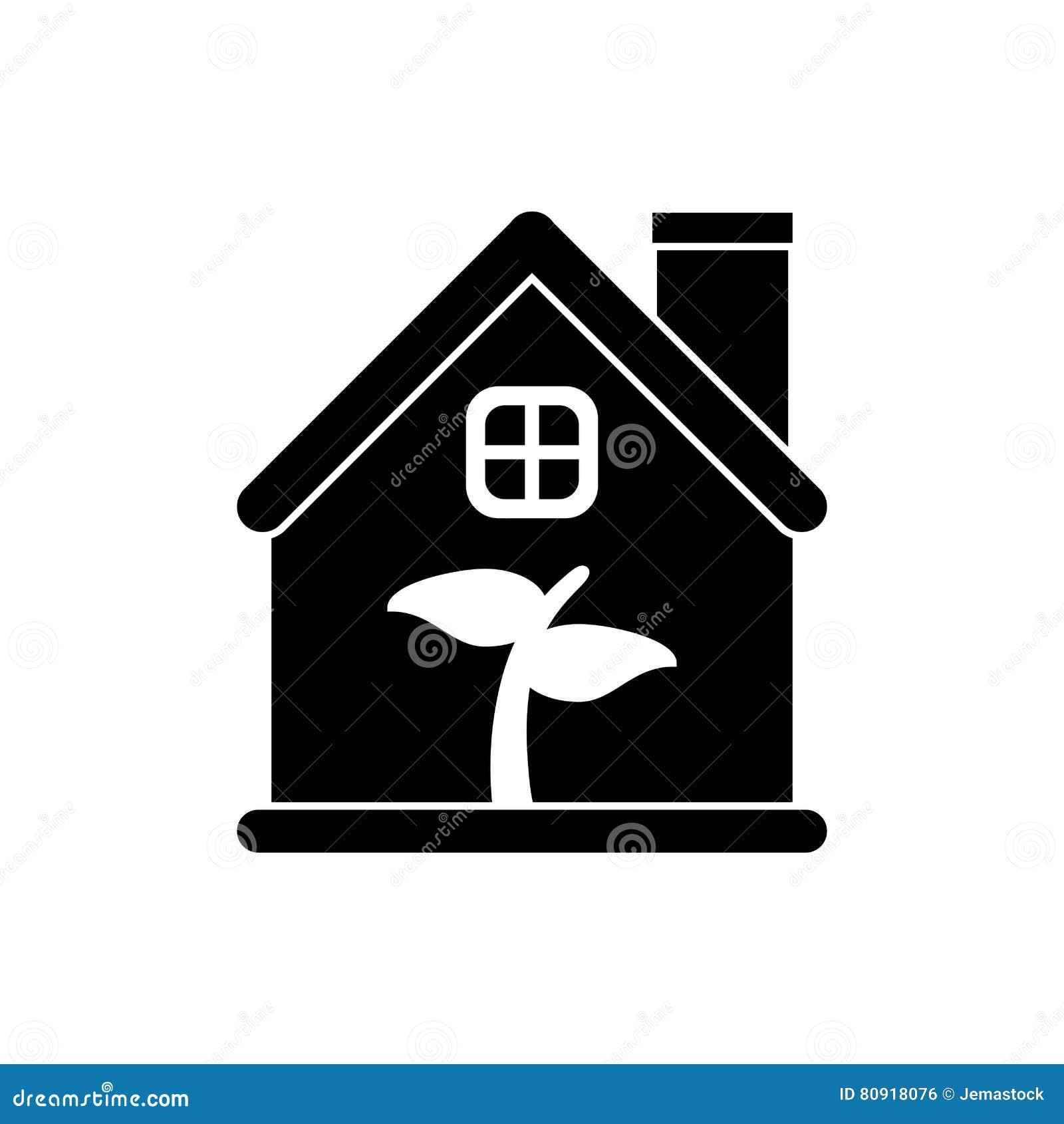 Magnificent Leaf Inside House Design Stock Vector Illustration Of House Download Free Architecture Designs Scobabritishbridgeorg
