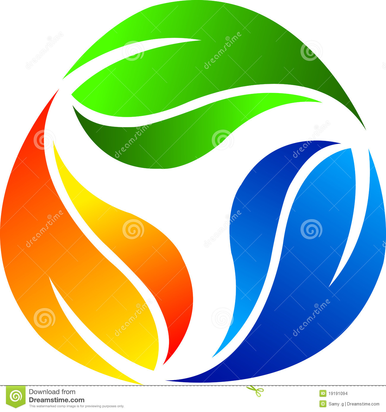 Leaf logo stock vector. Image of abstract, corporate ...