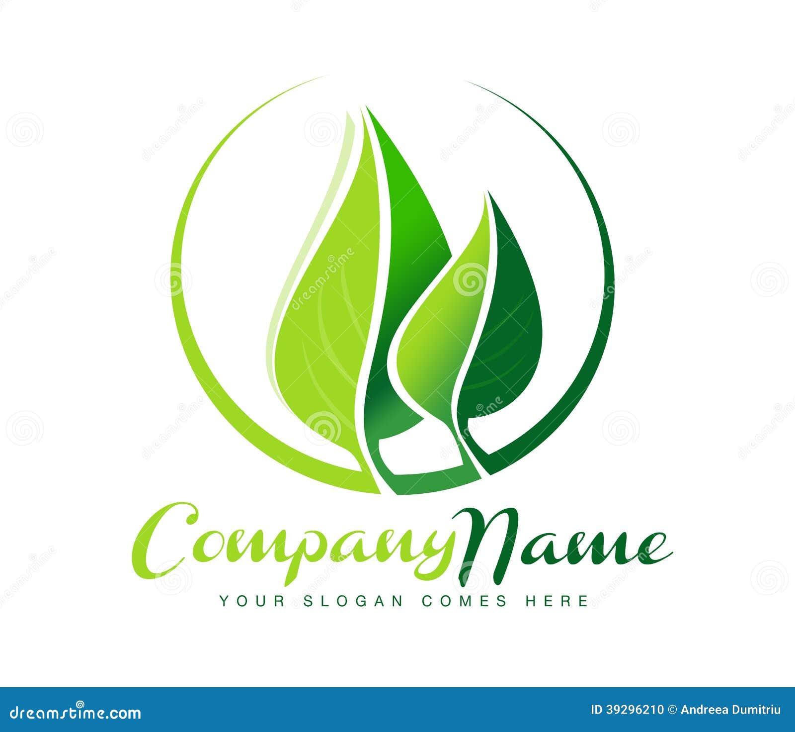 Leaf Logo Stock Vector - Image: 39296210