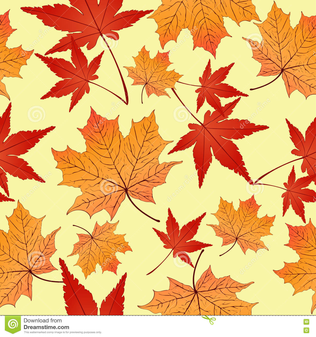 red leaves wallpaper pattern - photo #1
