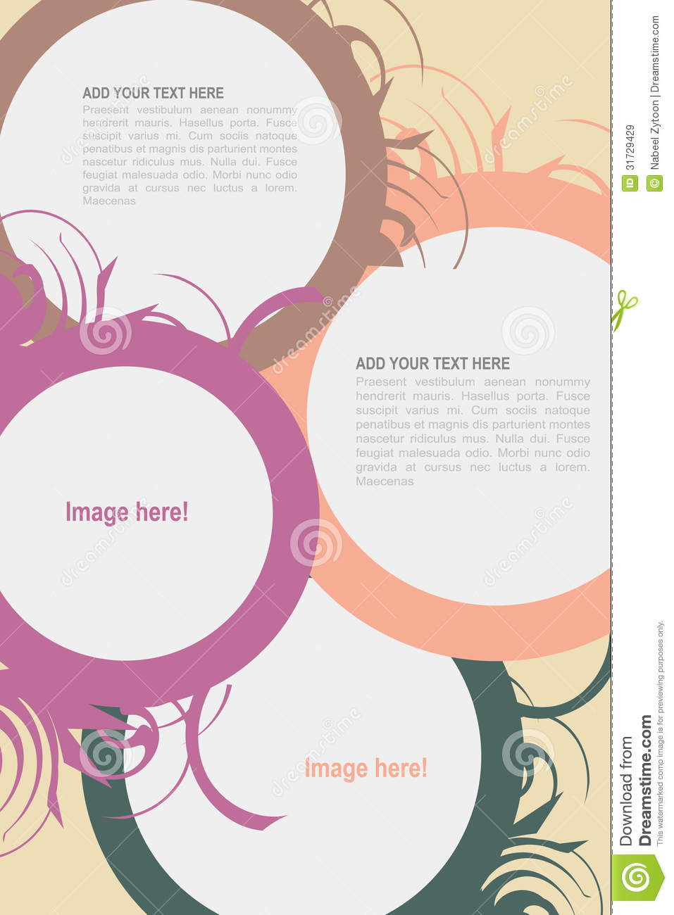 leaflet design folder brochure