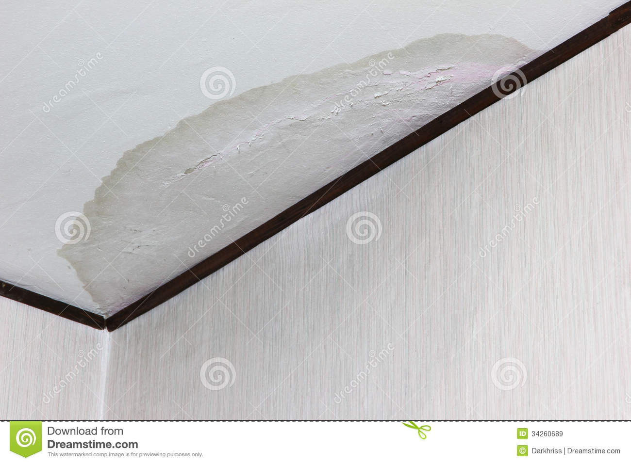 Leaking Ceiling Royalty Free Stock Images Image 34260689