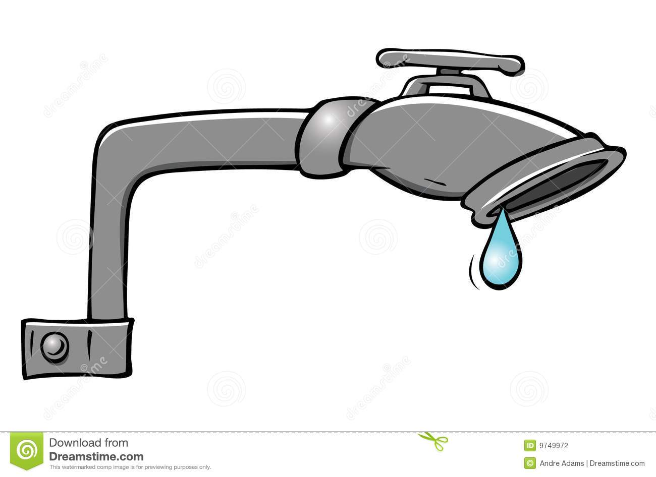 Leaky Faucet Stock Photography Image 9749972