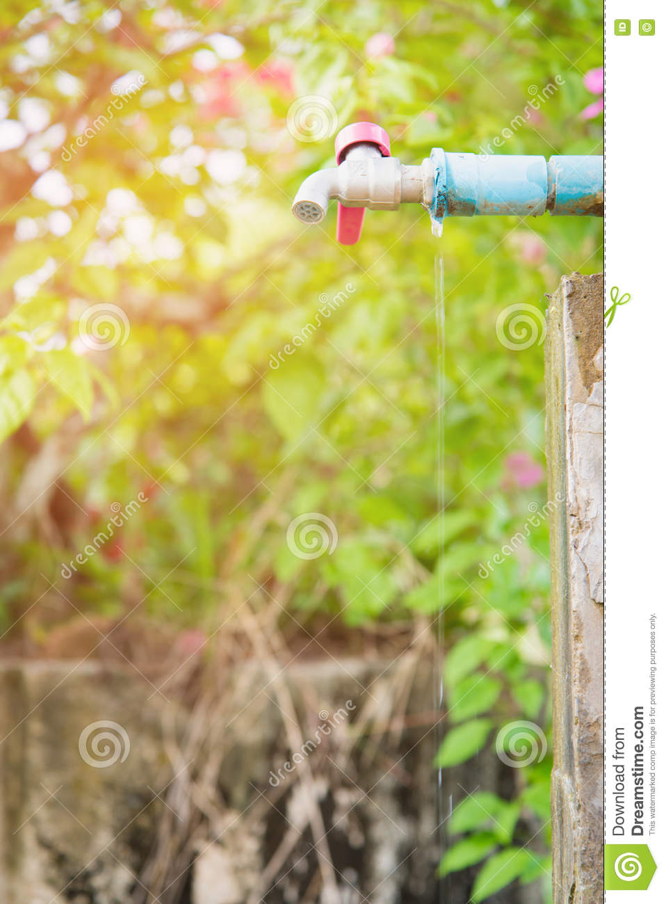 Leaky faucet stock image. Image of concept, conserve - 81202663