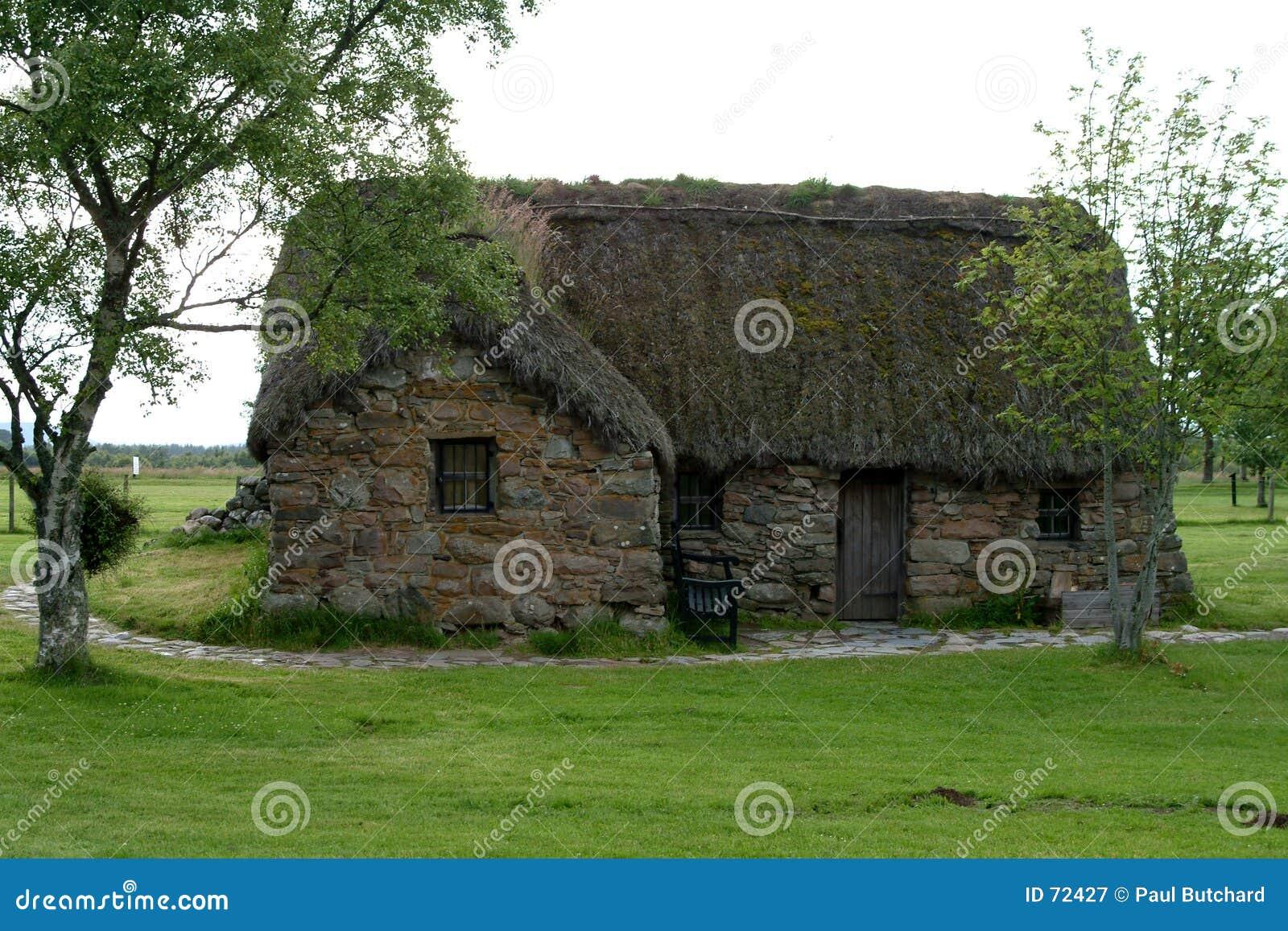 Leanach Häuschen - Culloden, Schottland #2