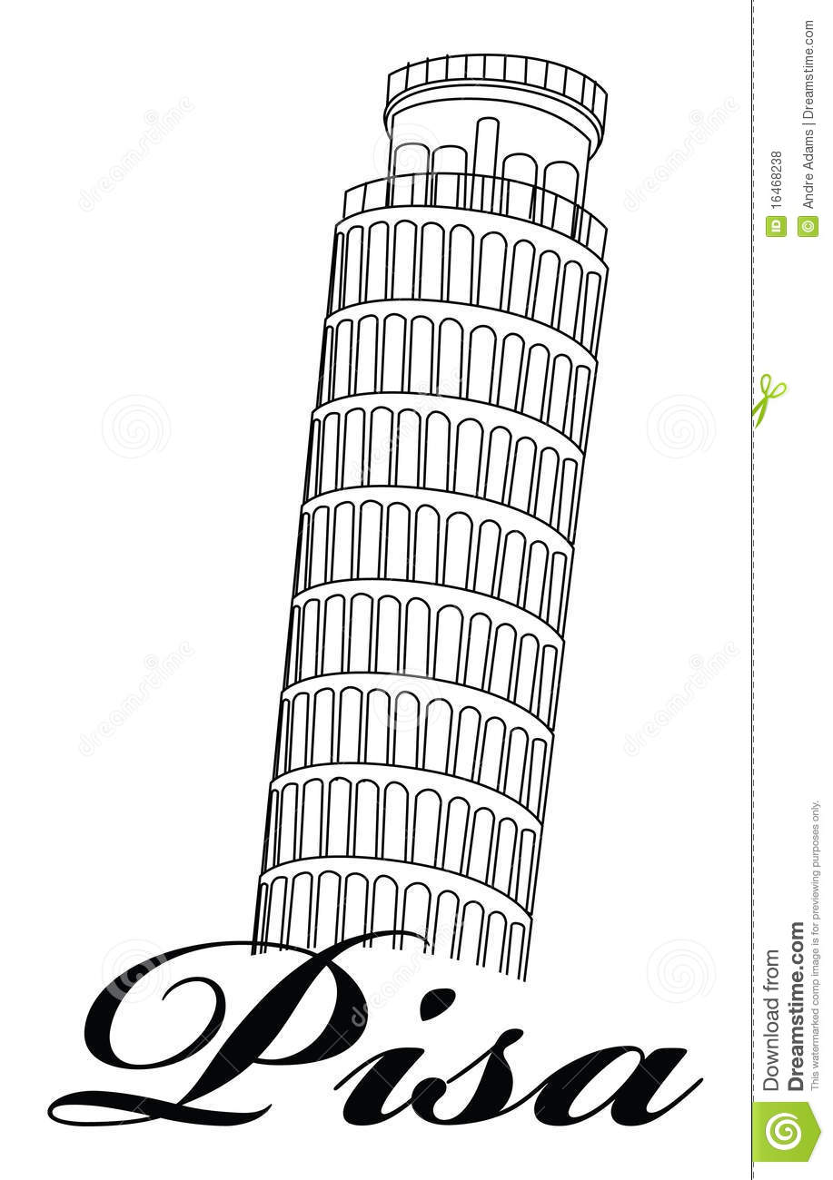 Leaning Tower Of Pisa Royalty Free Stock Photos Image 16468238