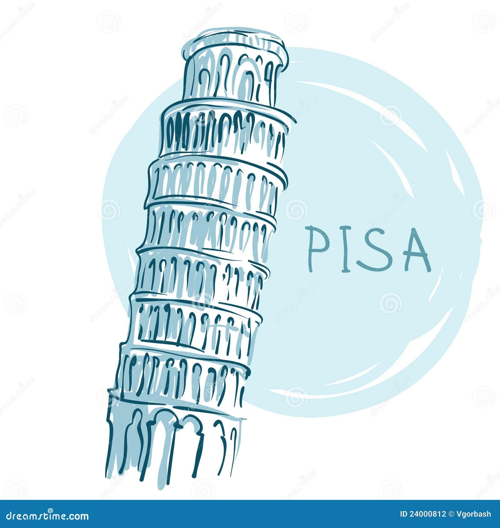 World famous landmark series: The Leaning Tower, Pisa, Italy, Europe.