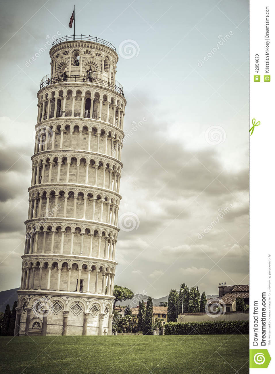 Leaning tower of pisa italy stock photo image 42854670 for Important buildings in the world