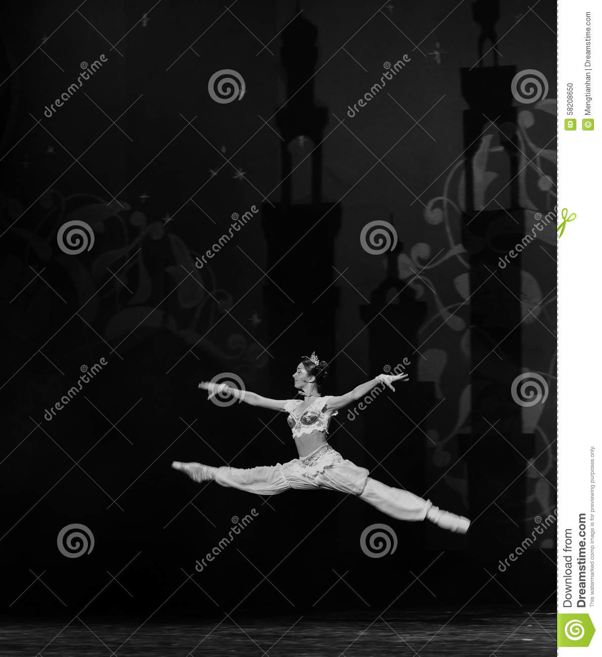 "Leaps and bounds- ballet ""One Thousand and One Nights"""