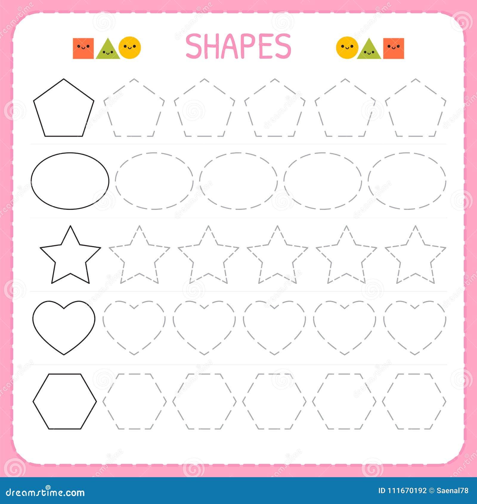 Learn Shapes And Geometric Figures Preschool Or Kindergarten
